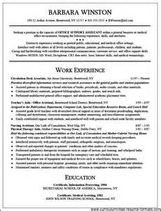 general office clerk resume sle free sles