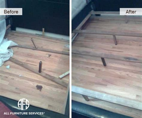 Broken Bed Frame Gallery Before After Pictures All Furniture Services 174 Part 28
