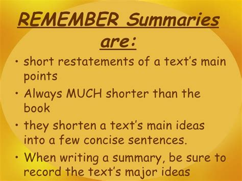 how to write a summary for a book report how to write a summary for a book