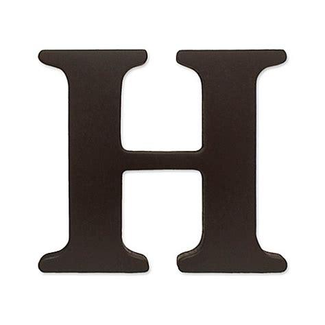 """kidsline™ Espresso Wooden Letter """"H"""" - Bed Bath & Beyond H"""