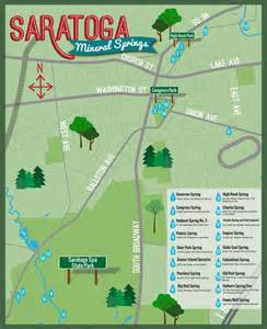 saratoga springs map check out a map of the springs