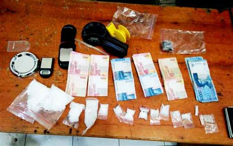 Timbangan Sabu sebelum tertangkap hermin pemilik 171 01 gram sabu diintai selama sepekan