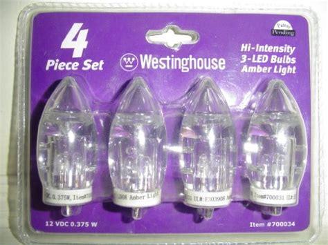 Westinghouse Hi Intensity Led Landscape Lighting Replacement Bulbs 4 Westinghouse Hi Intensity 3 Led Bulbs Light 12 Vdc 375 W