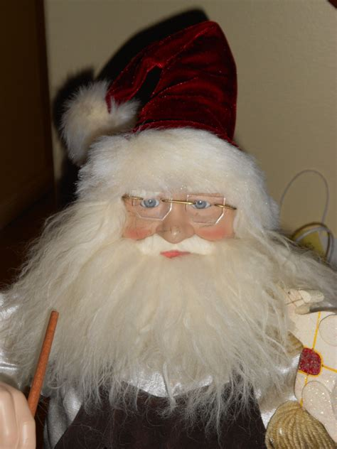 3ft porcelain doll 3ft sant claus doll collectors weekly