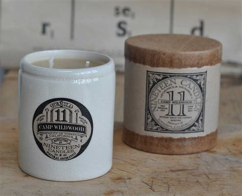 Handmade Candles Uk - handmade nineteen candle no 11 c wildwood