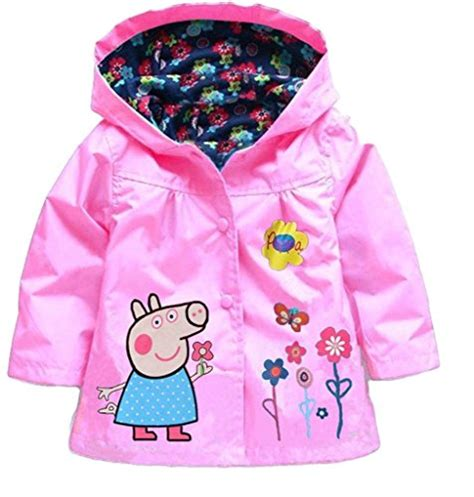 Jacket Flowers Import peppa pig flower baby coat jacket coat