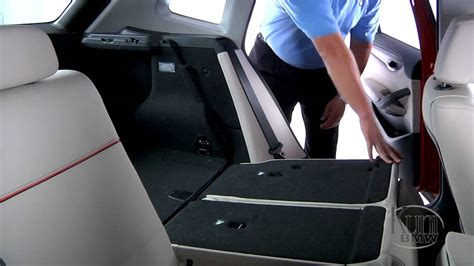 Bmw X1 Tieferlegen by Bmw X1 Rear Seat Adjustment Youtube