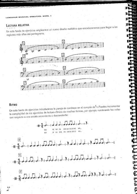 lenguaje musical rtmico i lenguaje musical ritmico si bemol rar