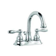 Glacier Bay Teapot Faucet by Glacier Bay Teapot 4 In Centerset 2 Handle Low Arc Bathroom Faucet In Chrome 67092 6001 The