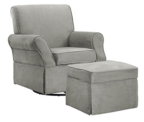 grey nursery glider and ottoman dorel asia the kelcie nursery swivel glider chair and