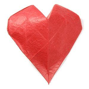 3d Hearts Origami - 17 best images about origami projects on