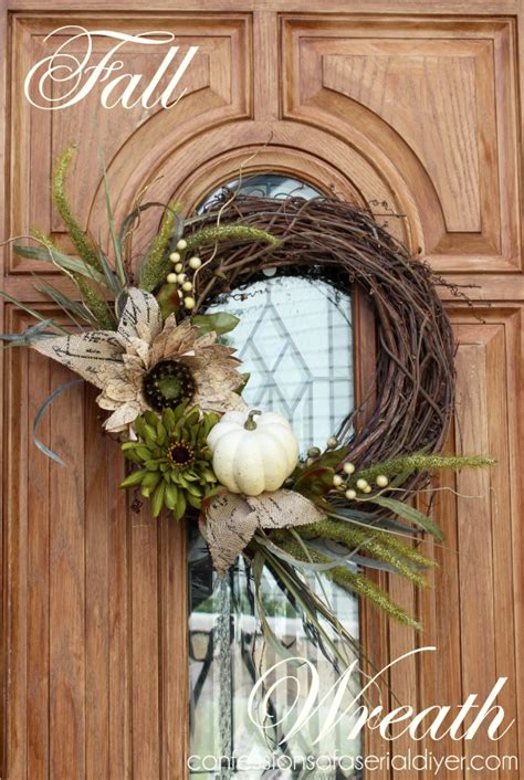How To Decorate A Grapevine Wreath by 59 Ingenious Fall Wreath Designs Ready To Inspire You