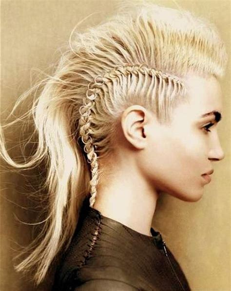 hot styling mohawks hot braided mohawk hairstyles 2014 beauty pinterest