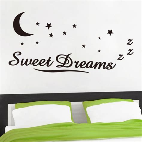sweet dreams creating a bedroom you ll love the aliexpress com buy zy8245 wall sticker quotes sweet