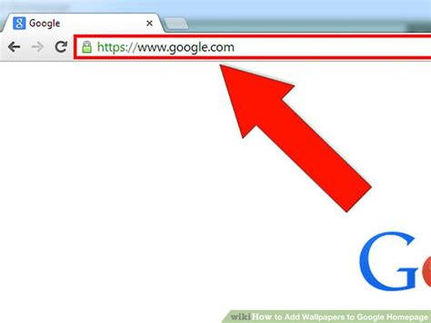 add wallpaper to google how to add wallpapers to google homepage 6 steps with