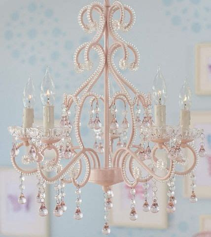 Small Pink Chandelier Pink Chandelier Chandeliers And On Pinterest