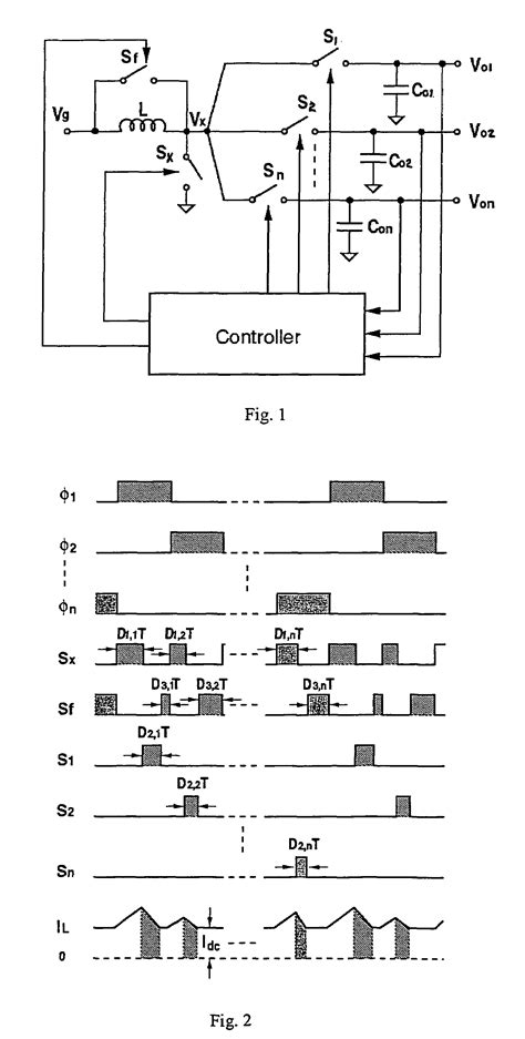 inductor switching converter inductor switching converter 28 images patent us20040201281 single inductor output