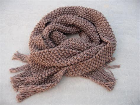 knitting moss stitch scarf knitting a craft