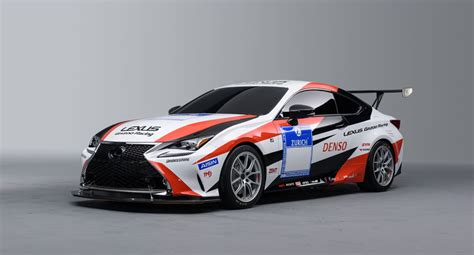 lexus racing car lexus rc gazoo racing