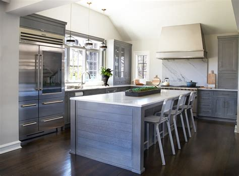 Rustic Grey Kitchen Cabinets by Modern Rustic Kitchen Gray Gray Modern Rustic Kitchen