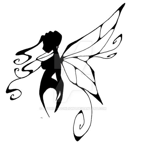 a fairy by gothic moonlight on deviantart