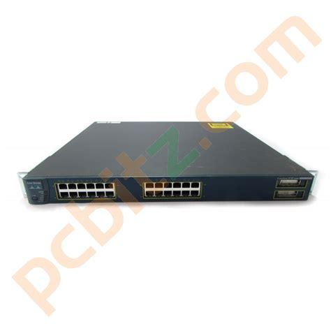 Cisco Catalyst 3550 24 Port C3550 24pwr Smi cisco catalyst ws c3550 24pwr smi 24 port 10 100mbps poe switch ebay