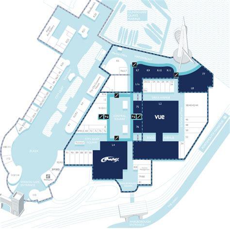 centre map gunwharf quays outlet centre