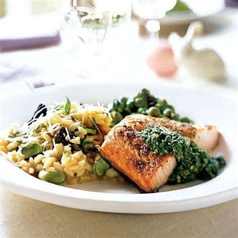 elegant dinner recipes 11 best spring and easter menus cooking light