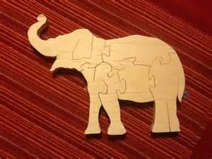 elephant scroll saw puzzle scroll saw pinterest