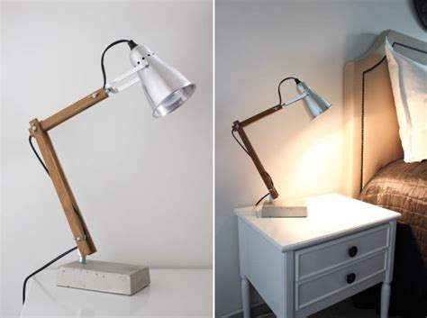 Night Stand Lamps by 5 Simple And Inventive Diy Bedside Table Lamps