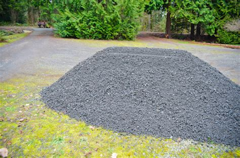 Yards Per Ton Of Gravel 1 yard of gravel coverage home improvement