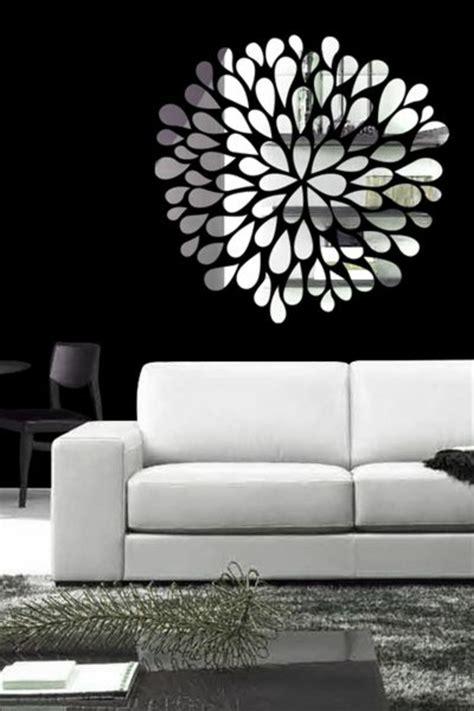 Table De Salon Ikea Pas Cher #4: Miroir-décoratif-alinea-miroir-desgn-pas-cher-comment-décorer-avec-un-miroir-salon-moderne.jpg