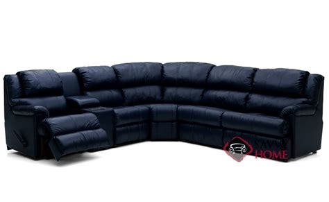 Large Reclining Sectional Harlow By Palliser Leather True Sectional By Palliser Is