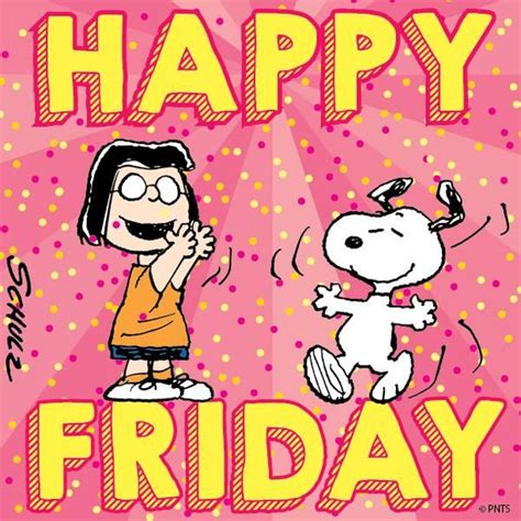 Snoopy Happy Days friday days months and seasons snoopy and peanuts