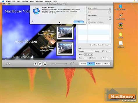 tutorial imovie 10 1 6 making your own dvd with imovie hd and idvd 09 machouse