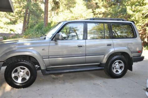 1997 Toyota Land Cruiser 40th Anniversary Edition Sell Used 1997 Toyota Land Cruiser Time 4wd 40th