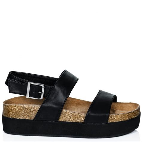 platform sandals buy calissi heeled flatform platform sandal shoes black