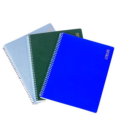 Spiral Kawat A4 1 14 Hitam 2 oddy 1 4 spiral paper note pad 40 sheets set of 10 pads buy at best price in india