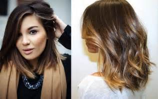 choppy lob haircut pictures of hairstyles choppy bangs medium length