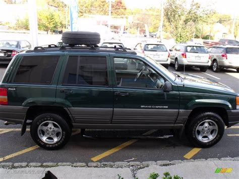 1998 forest green pearlcoat jeep grand laredo 4x4 20083679 photo 6 gtcarlot