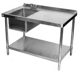 Cing Kitchen Table With Sink Stainless Work Table With Sink Commericial Restaurant Work Table With Sink Stainless Table With