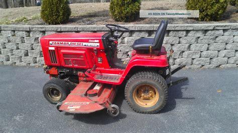 Diesel Garden Tractor by Yanmar Ym146 Diesel Garden Tractor