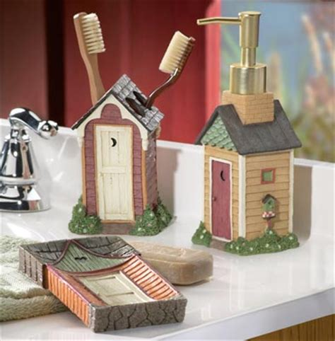 Outhouse Bathroom Decor Collections Etc Find Unique Gifts At