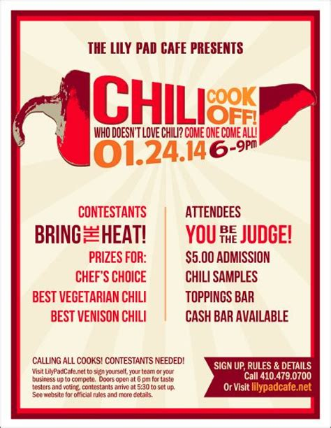 chili cook flyer template chili cook flyer template search partaay chili recipes flyer