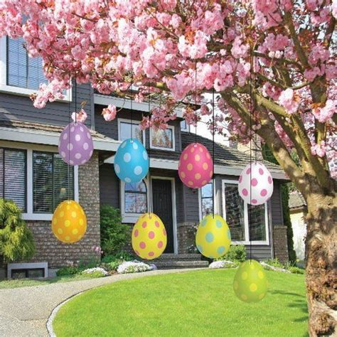 yard decorations ideas creative easter outdoor decoration ideas hative