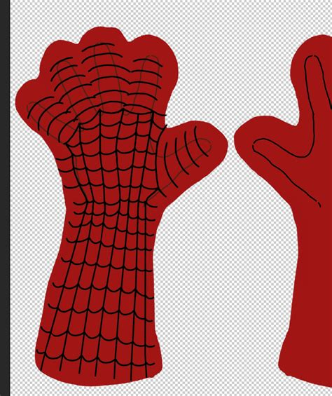 spiderman glove pattern early guides to spidey costume pieces part 1 gloves