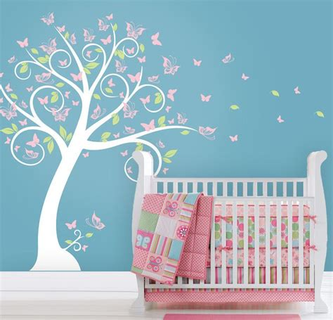Butterfly Wall Decals For Nursery Best 20 Tree Wall Decals Ideas On Tree Wall Painting Teal Wall Stickers And Tree Wall