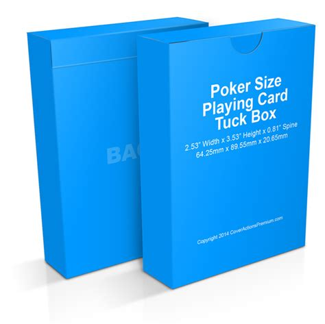 bicycle card tuck box template tuck box mock up actions cover actions premium