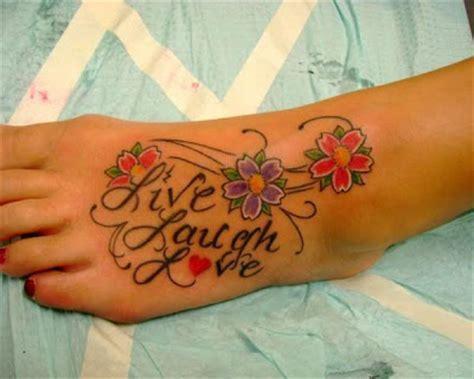 tattoo quotes live laugh love denan oyi live laugh love quotes tattoos