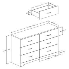 Dimensions Of A Dresser by 1000 Images About Furniture Dimensions On Bed